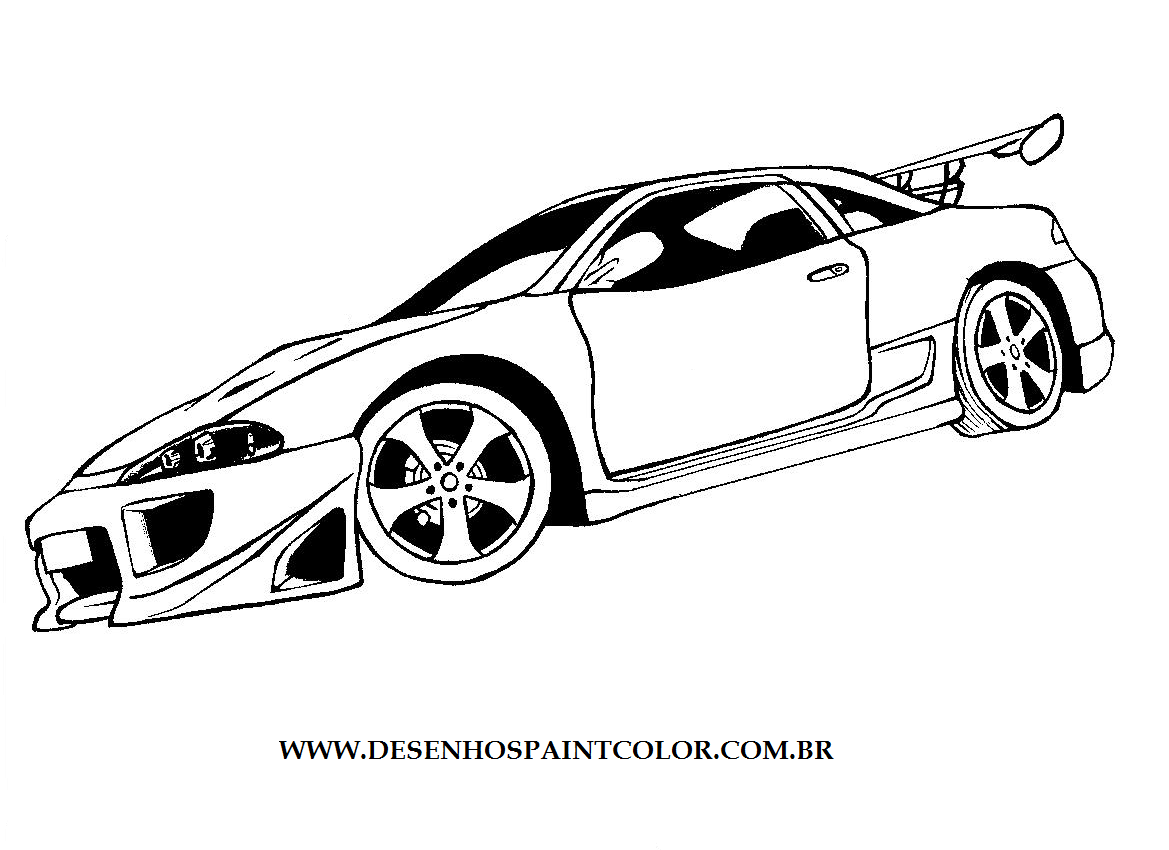 Mitsubishi eclipse coloring pages coloring pages for Eclipse coloring pages