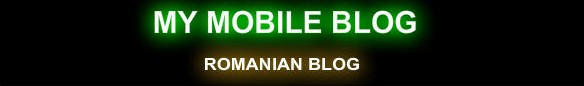 My Mobile Blog