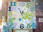 My craft room clock
