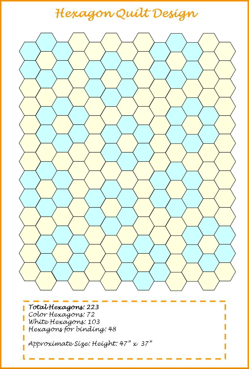 hexagon english paper piecing blogs