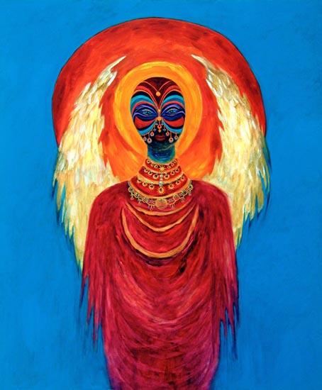 Black Angel Paintings