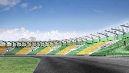 Stadion po przebudowie
