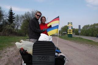 Katja und Falk sind in die Ukraine eingereist