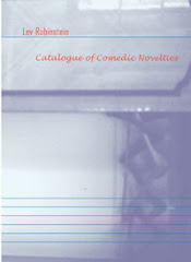 Catalogue of Comedic Novelties: Selected Poems of Lev Rubinstein