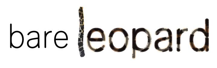 bare leopard