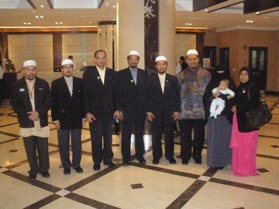 Bersama Tn Hj Ismail Hj Ahmad