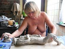 Annick, sculptrice