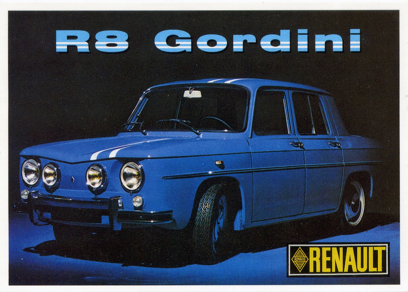 renault gordini le retour lost in the seventies. Black Bedroom Furniture Sets. Home Design Ideas