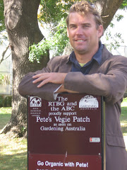 Pete visited Pete's Vegie Patch Tasmania