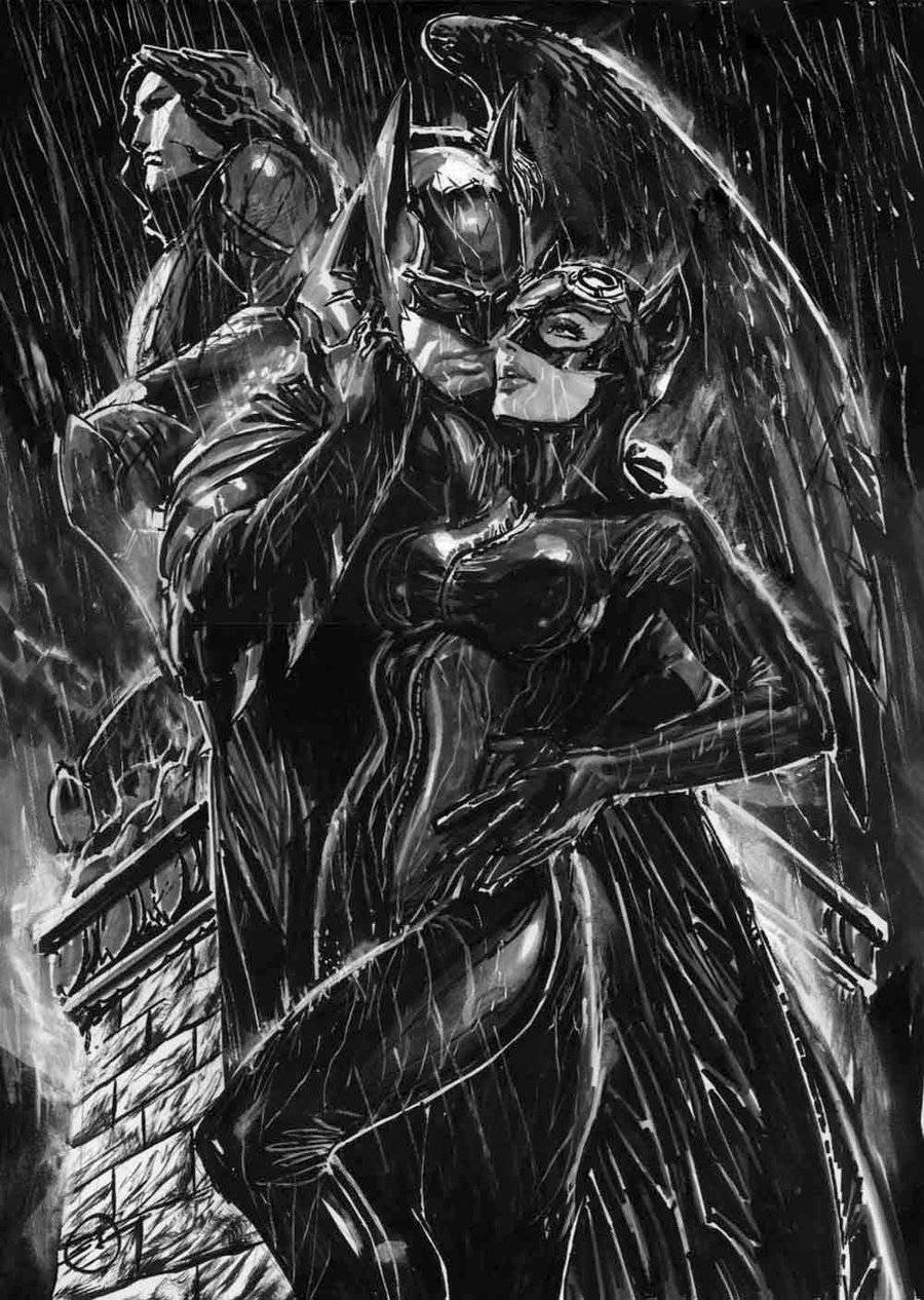 batman and catwomen
