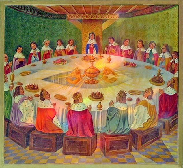 Photos daniel broc liande les chavaliers de la table ronde - Noms des chevaliers de la table ronde ...