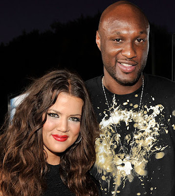lamar odom and his girl friend