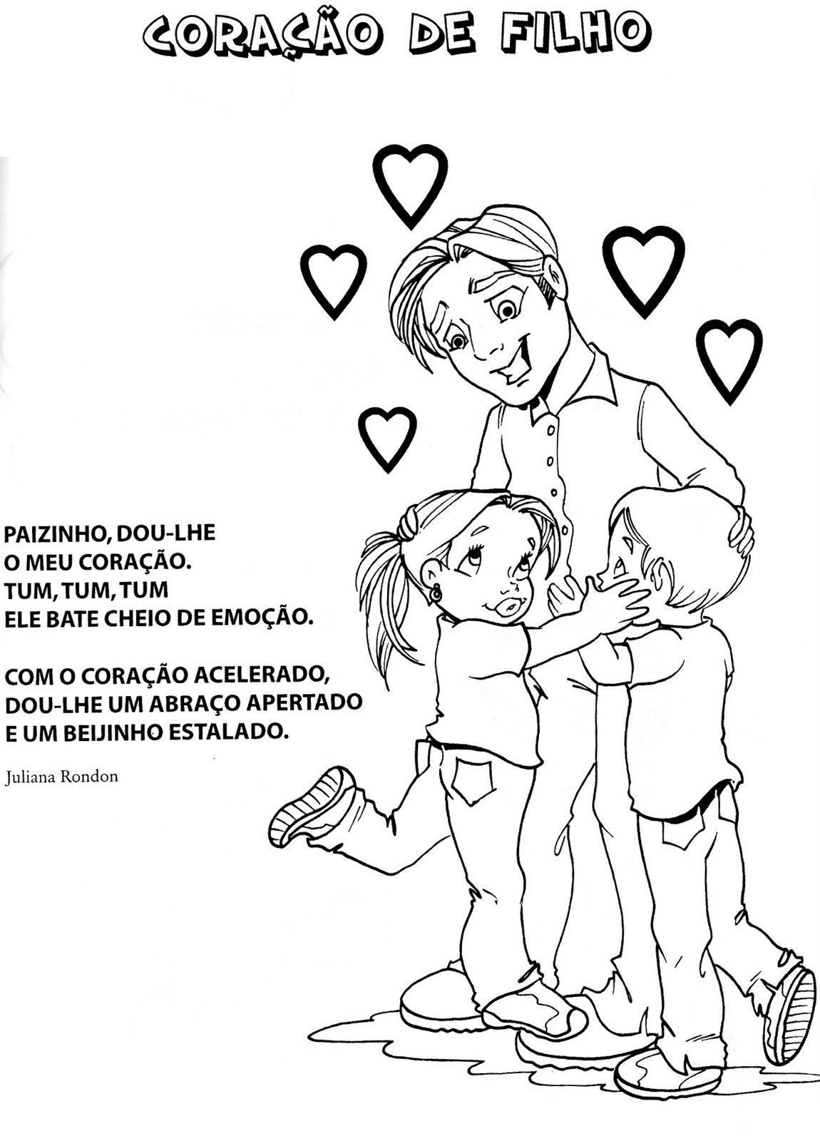Versinhos e Poesias Ilustrados para o papai | Pra Gente Miúda