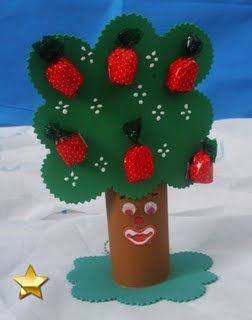 lembrancinhas de eva para dia da árvore