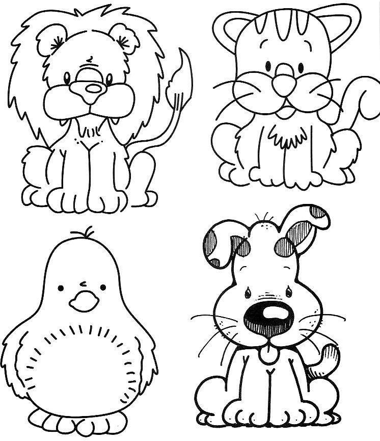 Zoo Animals Colour By Number : Zoo Animals Coloring Pages For Pr. Zoo. Best Free Coloring Pages