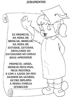 juramentos para formatura