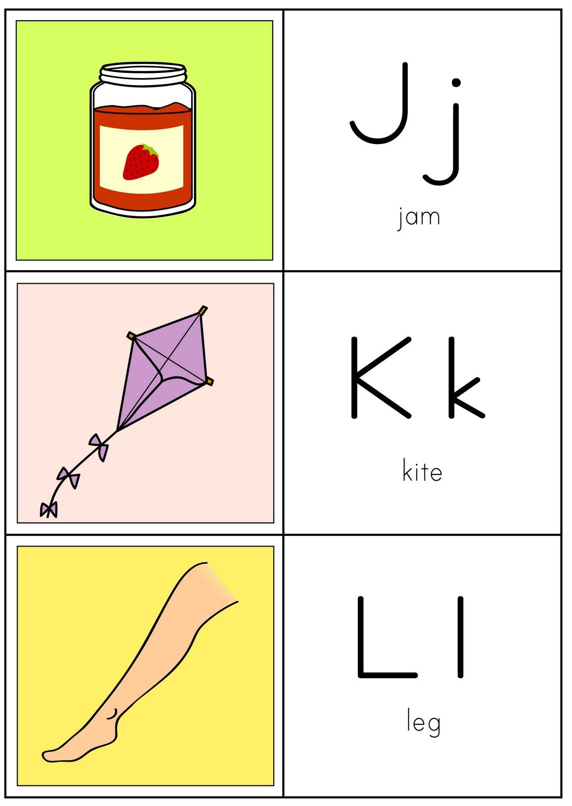 Coisas De Pr S Alfabeto Ilustrado Em Ingl S -> Desenhos Para Alfabeto Ilustrado