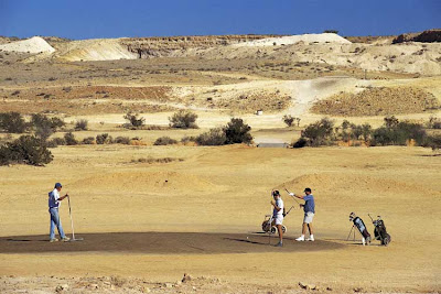 Coober Pedy Golf Course Australia,