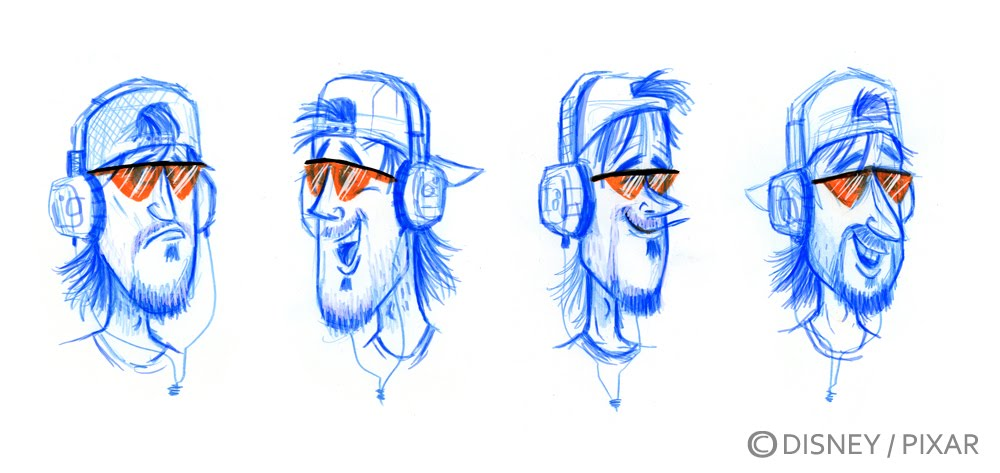 Pixar Character Design Process : Nate wragg art and illustration toy story