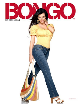 Kim Kardashian is the new face of BONGO Jeans