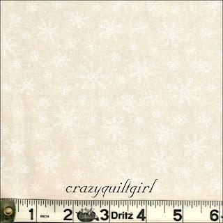 Moda MUSLIN MATES Snowflakes Muslin Fabric