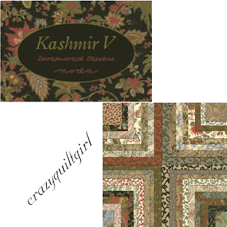 Moda KASHMIR V Fabric by Sentimental Studios