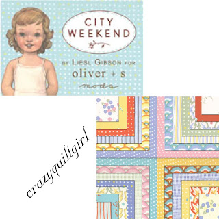 Moda CITY WEEKEND Fabric by Oliver + S