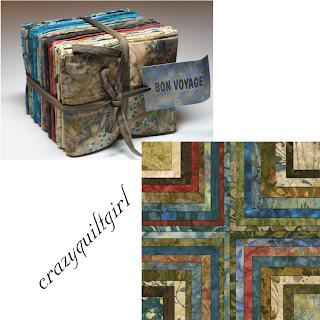 Moda BON VOYAGE BATIKS Fat Quarter Bundle by Laundry Basket Quilts