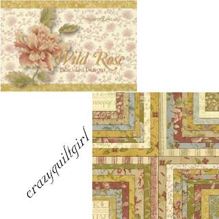 Moda WILD ROSE Fabric by Blackbird Designs
