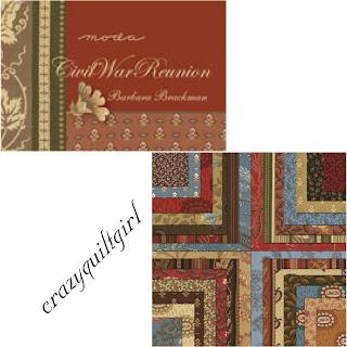 Moda CIVIL WAR REUNION Fabric by Barbara Brackman