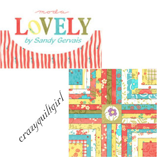 Moda LOVLEY Quilt Fabric by Sandy Gervais