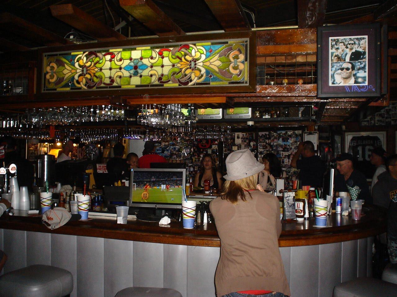 basic '70's sports bar;