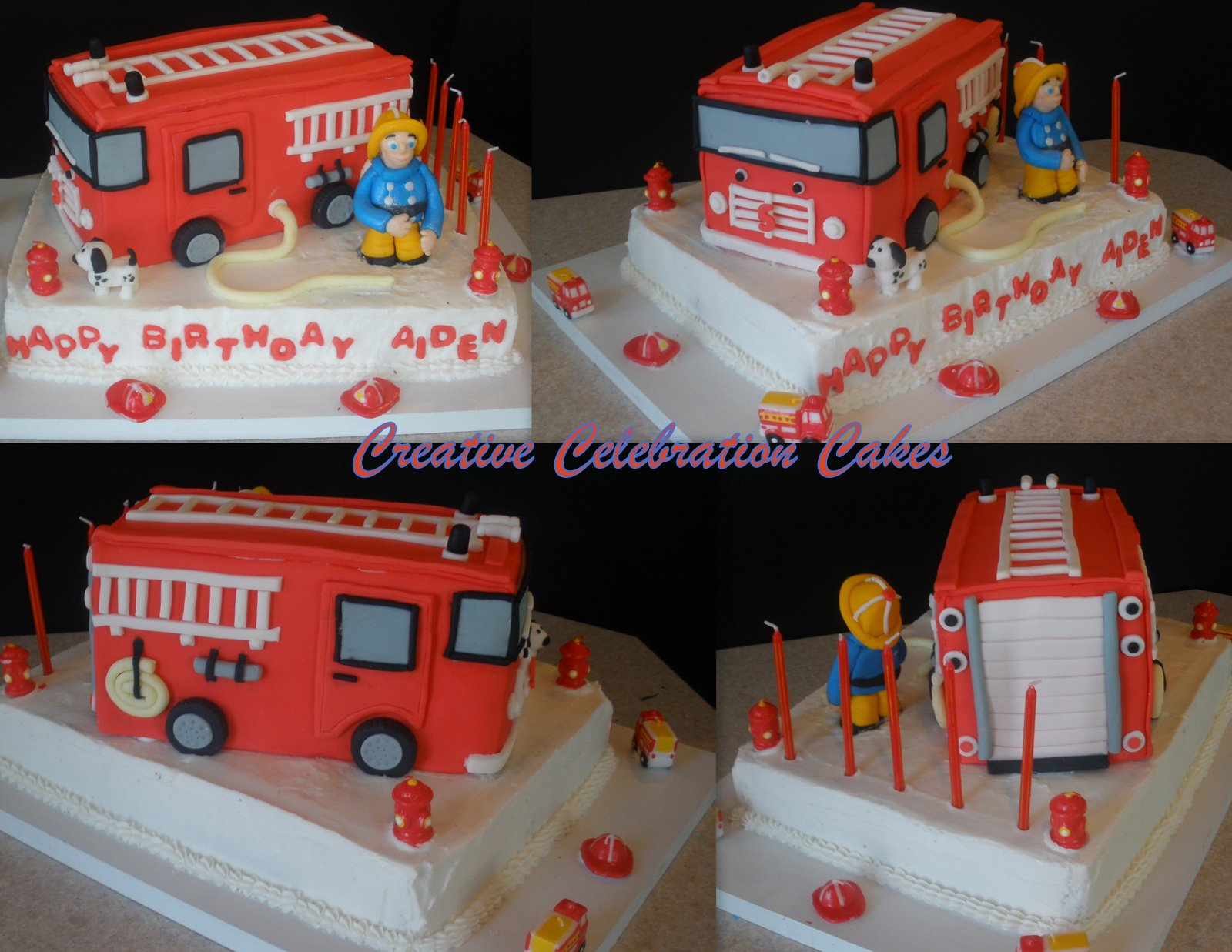Perfectly Magical Events Fireman Birthday Cake