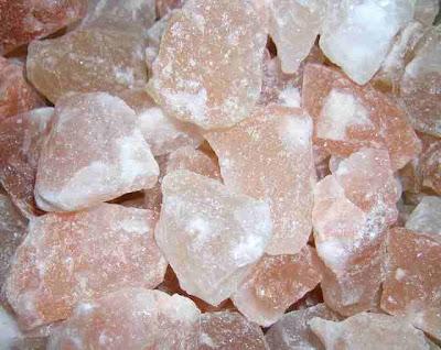 La increible y beneficiosa la sal  rosada.