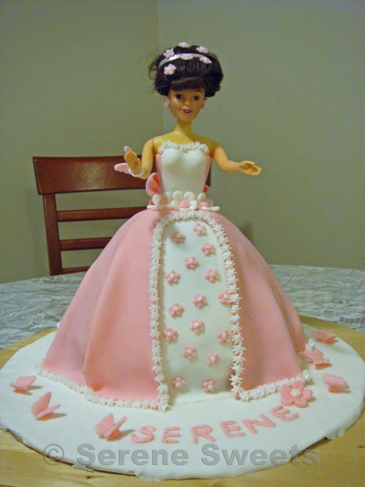 Barbie Fondant Cake Images : Pin Pastel Barbie Fondant Cake Vestido Pic 24 Cake on ...