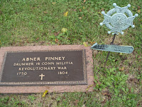 Capt. Abner Pinney, Rev. War Hero