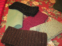 crochedted scarves