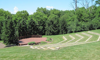 outdoor theatre and stage