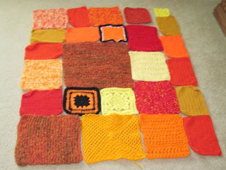 fall afghan design