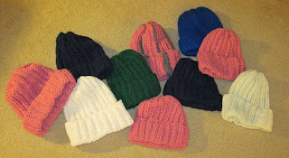 crocheted hats for homeless