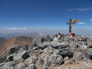 Pica d'Estats, 3143m, Pyrénées catalanes