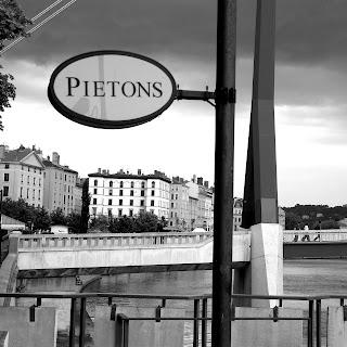 Passerelle du Palais de Justice - Les bords de Saone à Lyon