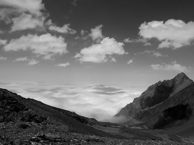 Mer de nuages en Pyrénées