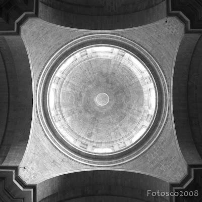 Palais de l'Escurial, la coupole de la basilique