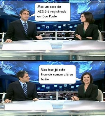willian borner e fátima bernardes falando da aids