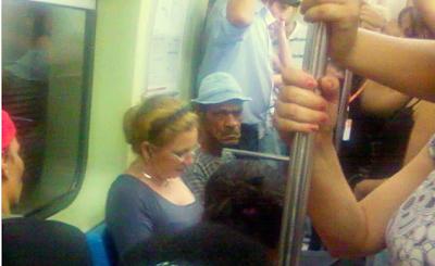 seu madruga no metrô