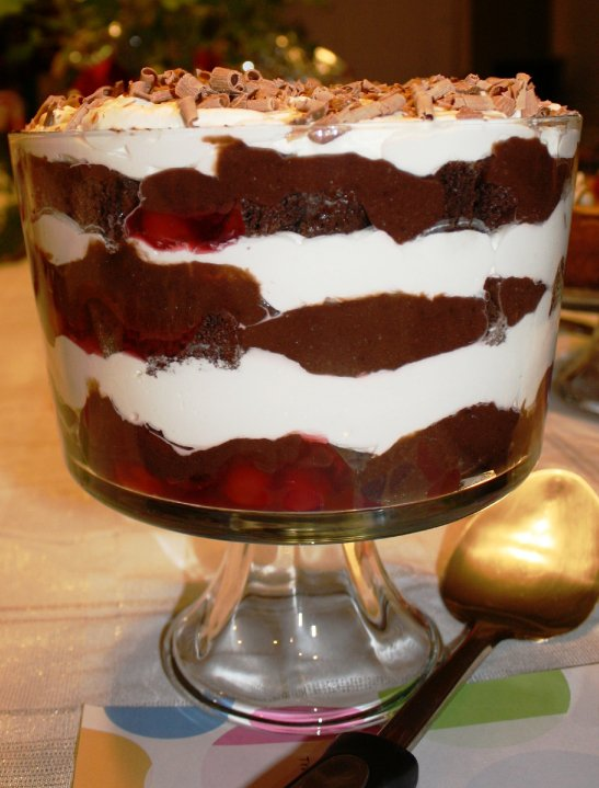 Good Eats Society: BLACK FOREST TRIFLE