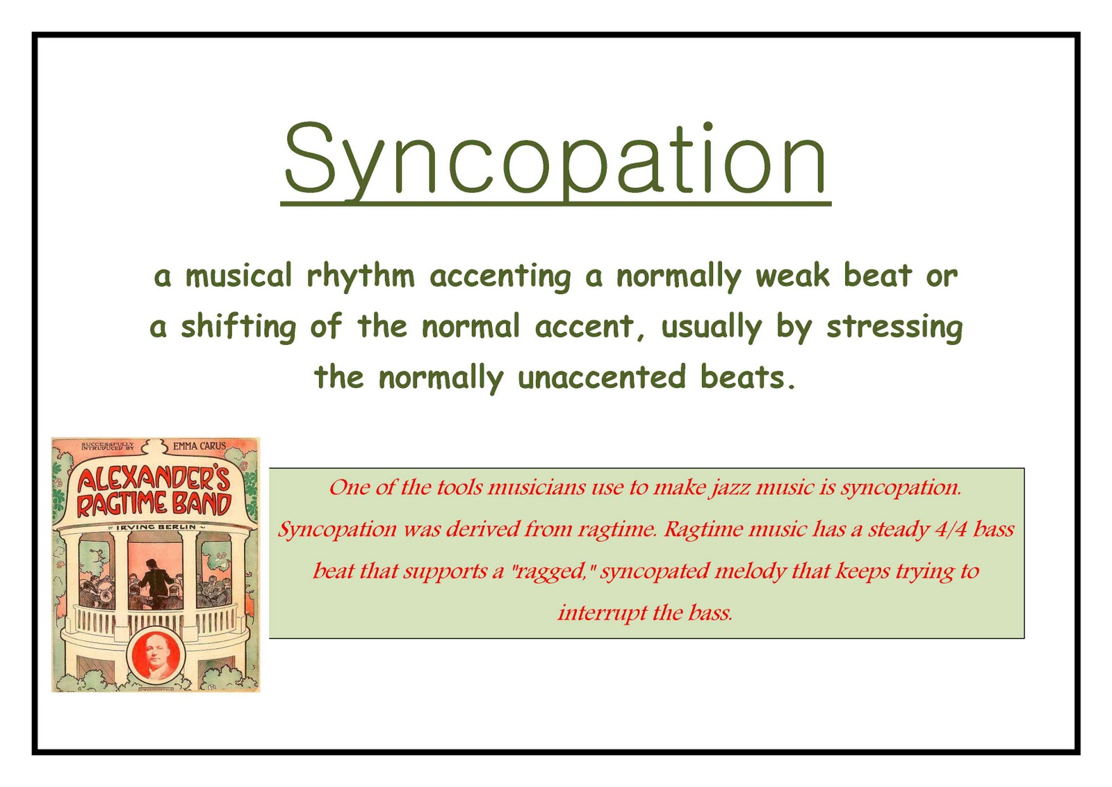 an analysis of improvisation in music Improvisation north indian classical music is built on melodies which are varied by improvisation [improvisation: the creation of a musical passage by a musician whilst it is being performed.