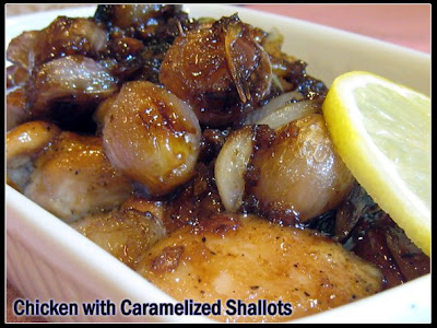 Chicken with Caramelized Shallots