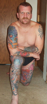 Asian Tattoo Man